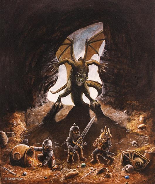 Sword & Sorcery: Fantasy Artwork by Joseph Vargo